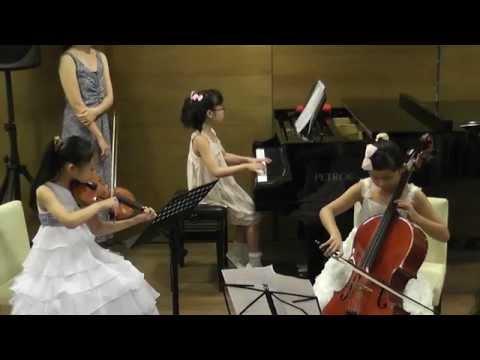 Haydn Piano Trio in D major,Hob XV:24