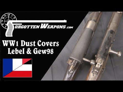 WW1 Rifle Mud Covers: Lebel & Gewehr 98