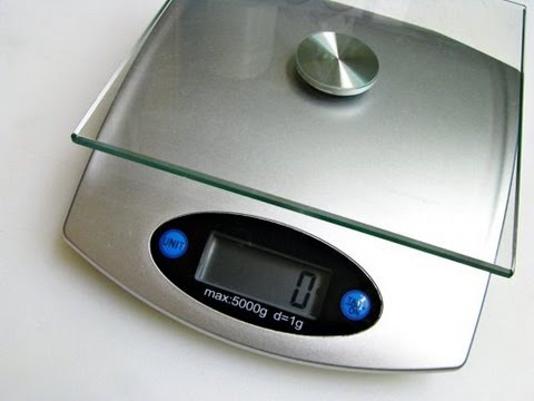 ★ Muscle Building Kitchen Tip: Bodybuilding Food Scale 101