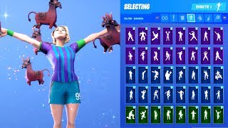 FINESSE FINISHER SKIN SHOWCASE WITH ALL FORTNITE DANCES & EMOTES