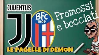 Juventus Bologna, le pagelle di Demon