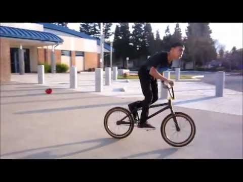 How to 180 off Things Bmx