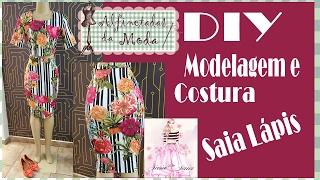 DIY – Modelagem e Costura Saia Lápis – Curso de Corte e Costura – Passo a Passo