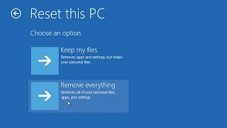 Windows 10 - How to Reset Windows to Factory Settings without installation disc