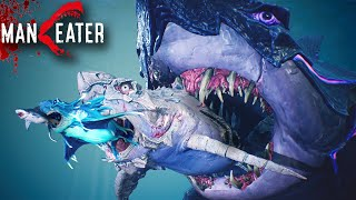 ALL SHARKS MAXED, GAME COMPLETED!!! - Maneater Gameplay | Part 8