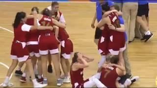 Женская сборная России U19 по баскетболу становится лучшей в мире, обыграв в финале США