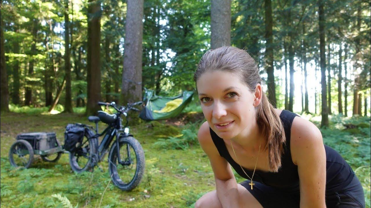 Querfeldein - Biketour mit Übernachtung im Wald 🌲