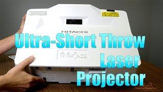 Hitachi LP-AW4001 4200-Lumen WXGA Ultra-Short Throw ProjectorHitachi