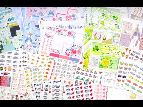 Sticker Haul ft. Very Jenny Co, Keatown, and more!!
