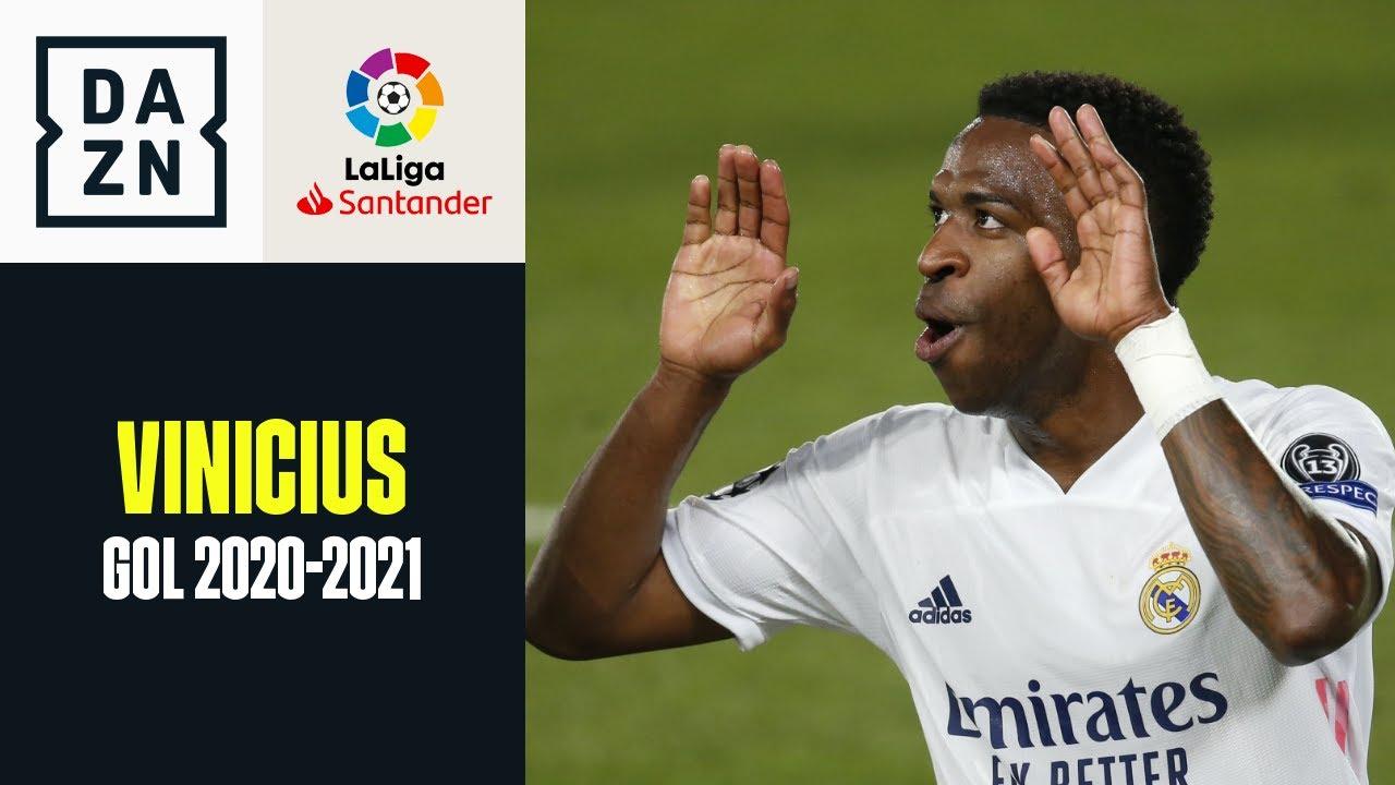 Vinicius: tutti i gol ne LaLiga 2020-2021
