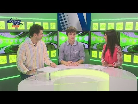 (TV SHOW) Alexandru Bejan on Dimineata Sportiva (14.08.14) Moldova Sport