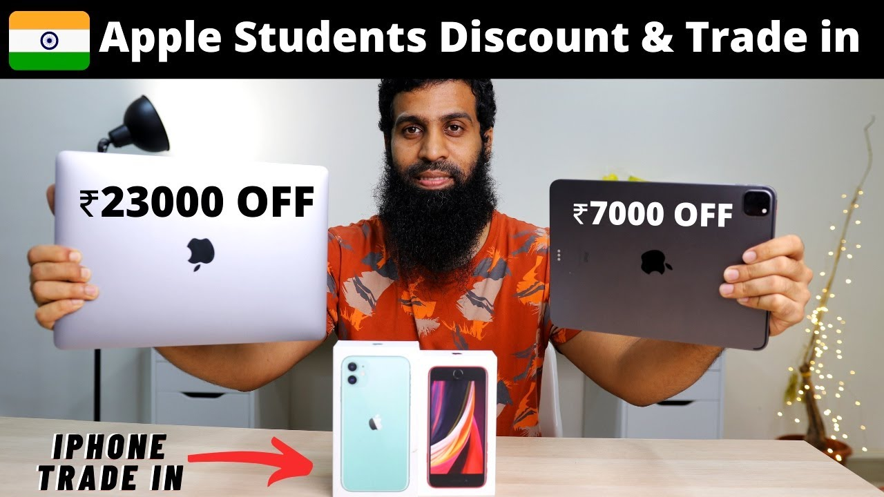 Apple India Students Discount & iPhone trade in India | Explained in Hindi