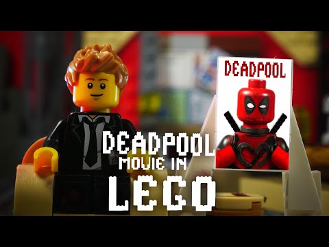 Deadpool Full Movie In LEGO Announcement