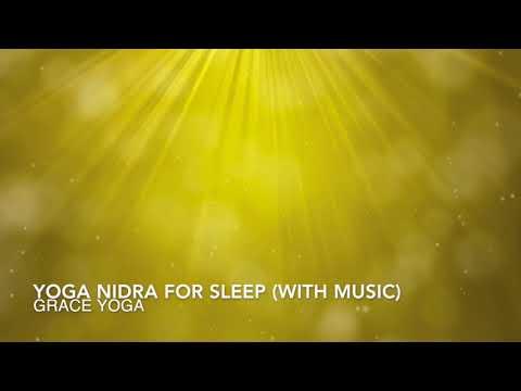 Yoga Nidra for Sleep (with music)