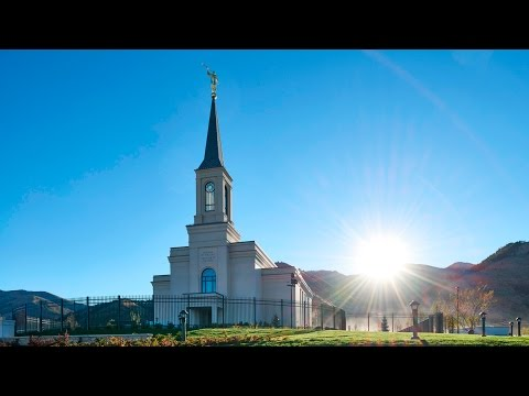 Star Valley Wyoming Temple Cornerstone Ceremony