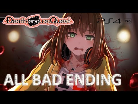 Death End Re;Quest - All 27 Bad Ending Possibility (English Sub | Japanese Dub)