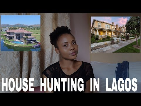 HOUSE HUNTING IN LAGOS | HOUSES IN LAGOS