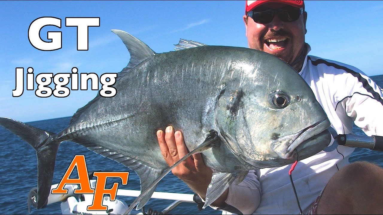 Jigging big gt andy 39 s fish video youtube for Youtube fishing video