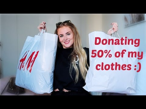 Come With Me To Thrift Shop + DONATING 50% OF MY CLOTHES!