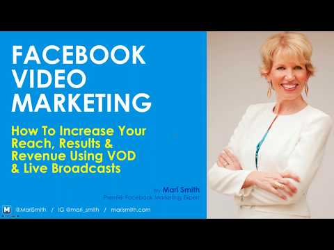 Facebook Video Marketing Webinar With Mari Smith - YouTube