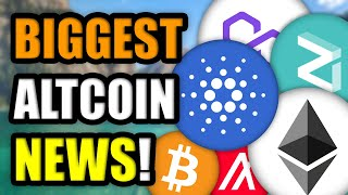 WHAT'S HAPPENING WITH CRYPTOCURRENCY?? (BIGGEST ALTCOIN NEWS)