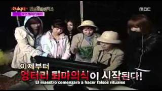 SNSD!!! Horror Movie Factory!!! Sub Español Ep. 1 (7,8)/10