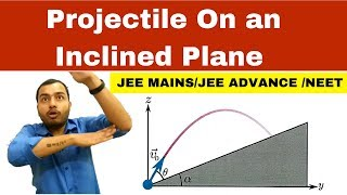 Projectile Motion 04    Projęctile On an Inclined Plane JEE MAINS/JEE ADVANCE / NEET   