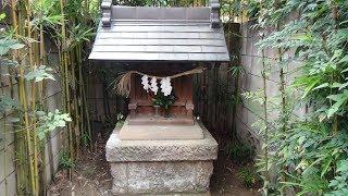 竹の杖権現 板橋区仲宿 加賀前田家下屋敷隣