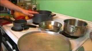 Basque Chicken Recipe : Utensils For Basque Chicken