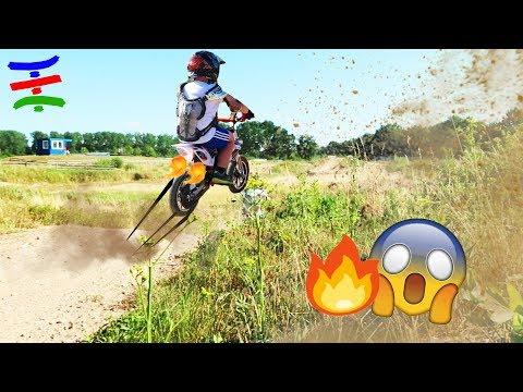 Ash dreht ab 💪 Gelände Action mit Folgen 💥 Erste Mal Moto Cross 😲 TipTapTube Family 👨👩👦👦