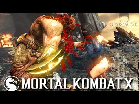 "MKX KITANA IS SPECIAL IN MY HEART! - Mortal Kombat X: ""Kitana"" Gameplay"