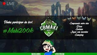 🔴 CBMAKI CAMPEONATO - COPA MONZINE - GG versus MS