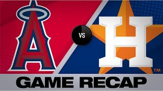 Fletcher's all-around game leads Angels past Astros | Angels-Astros Game Highlights 9/21/19
