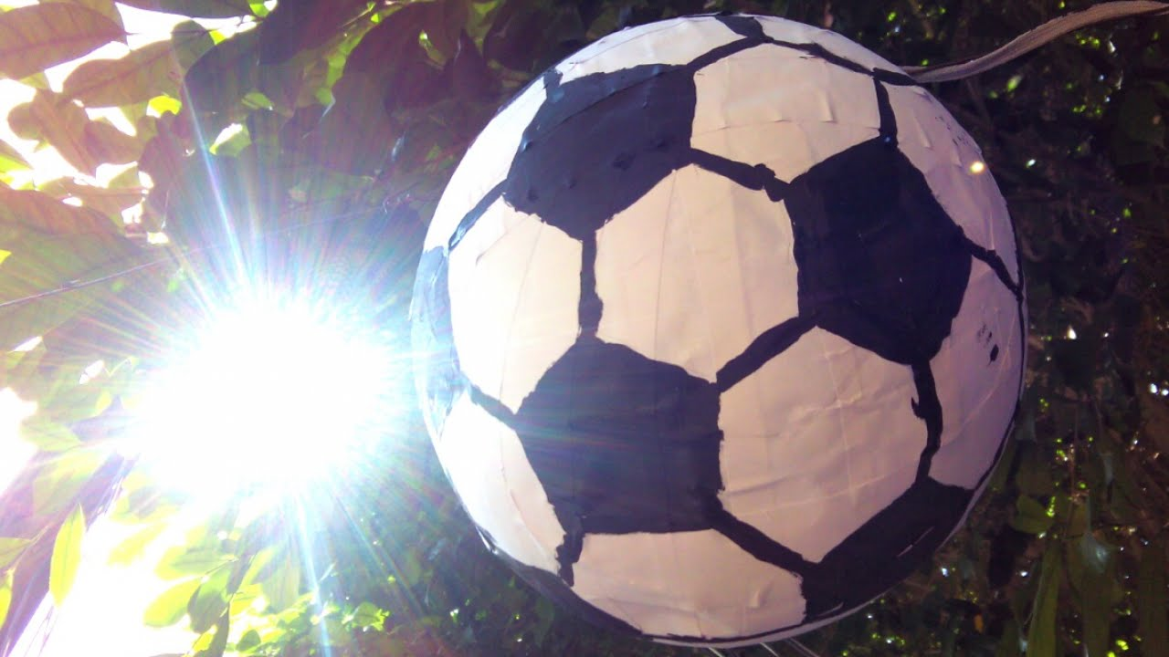 Soccer ball craft ideas - How To Make A Soccer Ball Pinata Diy Home Tutorial Guidecentral