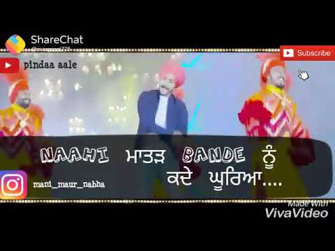 Yaariyan || Himmat Sandhu || Latest Punjabi Whatsapp Status|| King & Queen