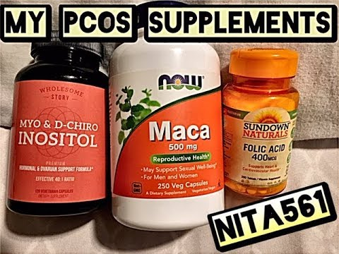 My PCOS Supplements