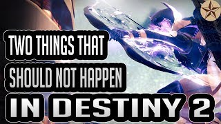 Two Things In Destiny That CANNOT Happen In Destiny 2!