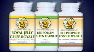 Royal Jelly, Bee Pollen and  Propolis by Beelievable Products