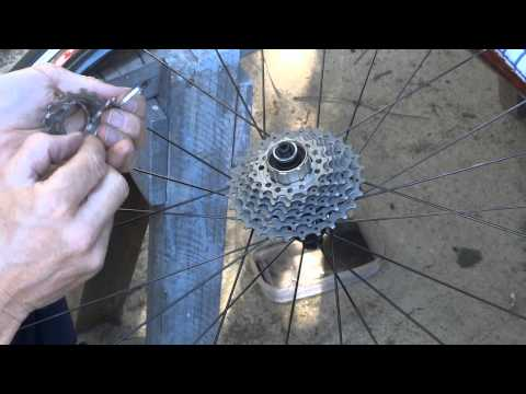How To Remove Clean & Reinstall Shimano or Sram Rear Cassette