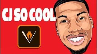 Wie Cartoon Yourself !- Schritt für Schritt / CJ SO COOL - Full Tutorial ( adobe draw )