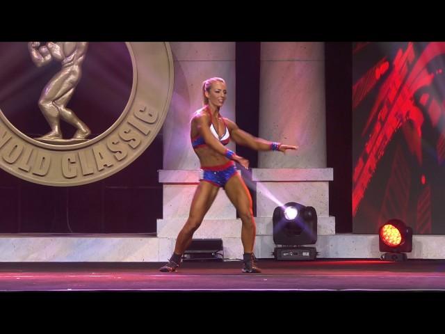 Arnold Classic 2017 Women's Fitness: Kristine Duba Routine