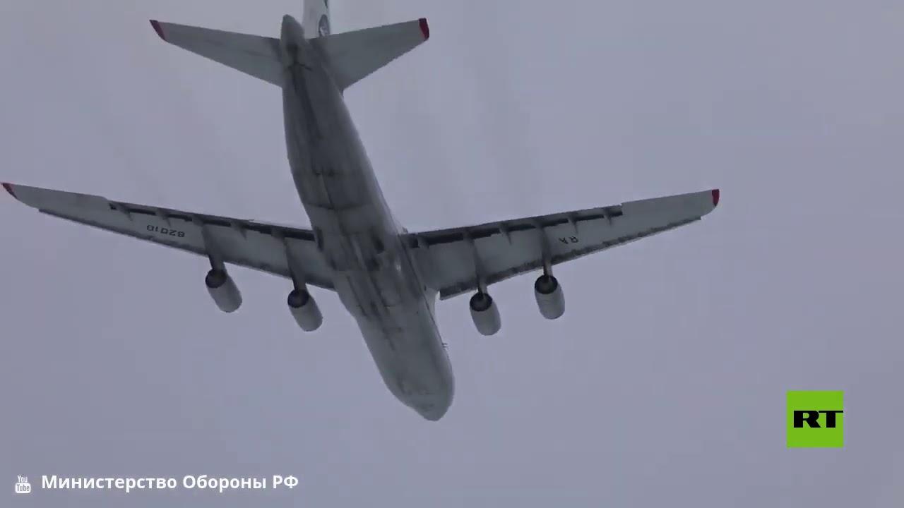 حدث تاريخي.. 6 طائرات نقل عسكرية عملاقة تحلق في وقت واحد في سماء روسيا  - نشر قبل 5 ساعة