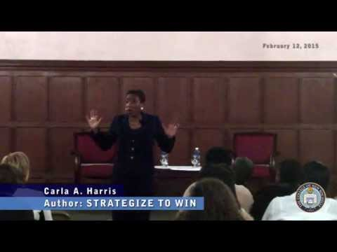 Strategize to Win: Carla Harris speaks at The College of New Rochelle