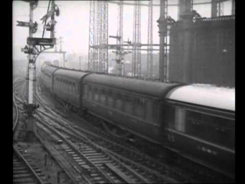 LMS diesels 10000 and 10001 newsreel film