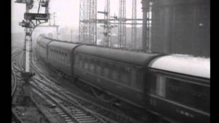 LMS diesels 10000 and 10001 newsreel film
