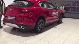 ALFA STELVIO Q4 | Launch model presentation interior exterior and Alfa Giulia blue edition