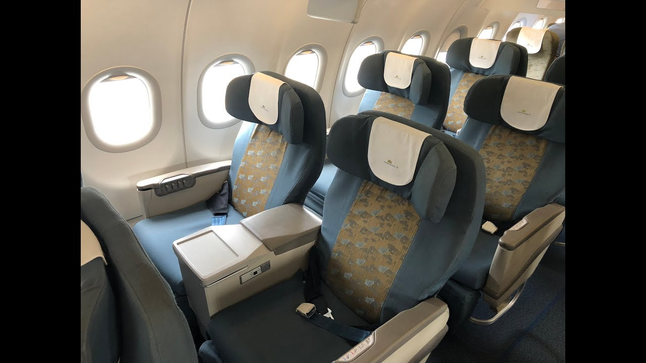 Vietnam Airlines A320 Domestic Business Class Youtube