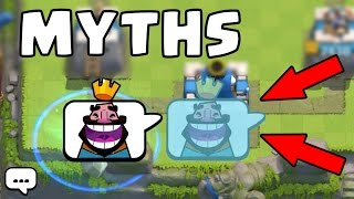 Top 10 Myth-busters in Clash Royale | Myths