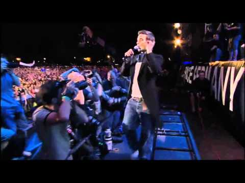 Robbie Williams Angels (Live 8 London 2005) HD