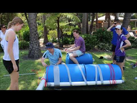 Team Building Event - Timeout Adventures - Duvall College - Construct It